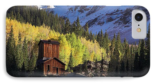 IPhone Case featuring the photograph Mining Ruins by Steve Stuller