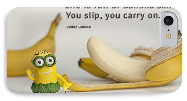 Minion Quote 3 IPhone Case by Tim Nichols