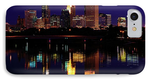 Minneapolis Twilight IPhone Case by Rick Berk