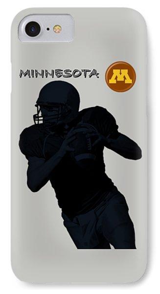 Minnesota Football Phone Case by David Dehner