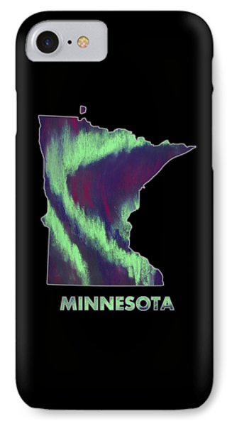 Minnesota - Northern Lights - Aurora Hunters IPhone Case