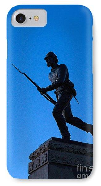 Minnesota Soldier Monument At Gettysburg Phone Case by John Greim