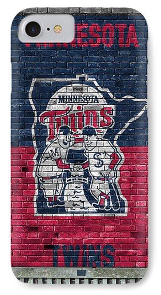 Minnesota Twins Brick Wall IPhone Case