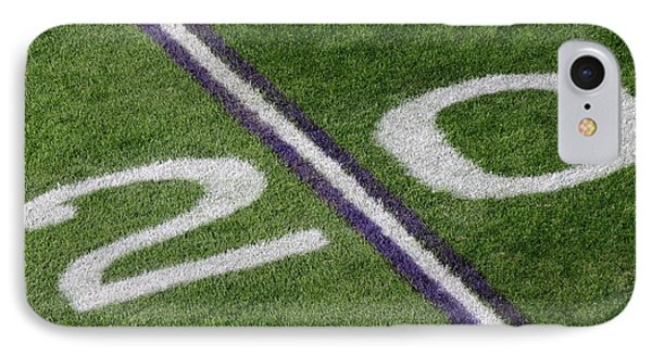 Minnesota Vikings 20 Yard Line IPhone Case