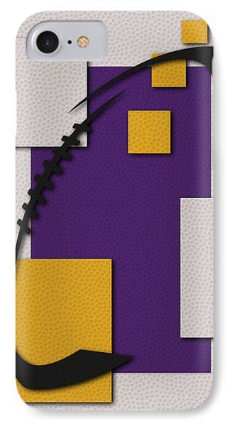 Minnesota Vikings Football Art IPhone Case by Joe Hamilton