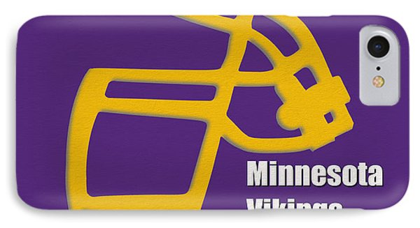 Minnesota Vikings Retro IPhone Case by Joe Hamilton