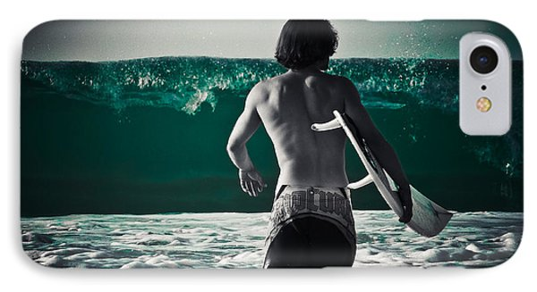 Mint Surf Phone Case by Loriental Photography