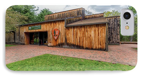 Minute Man National Historical Park Visitor Center IPhone Case by Brian MacLean