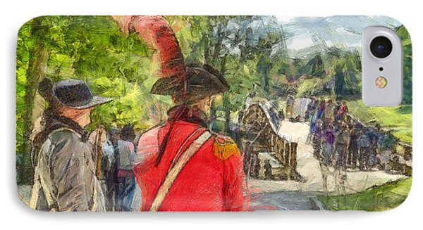 Minuteman And Redcoat Concord Ma Pencil IPhone Case