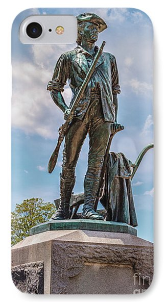 Minuteman Statue IPhone Case