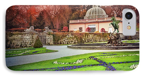 Mirabell Gardens Salzburg  IPhone 7 Case