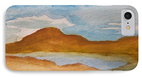 Mirage In The Desert IPhone Case by Kathleen Voort