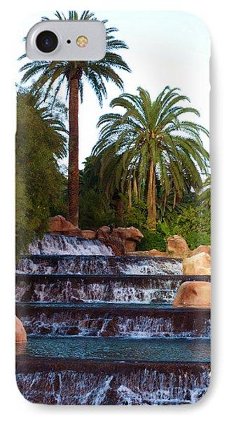 Mirage Waterfall Phone Case by Rae Tucker