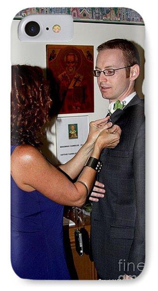 Miranda And Thomas - No.4525 IPhone Case by Joe Finney