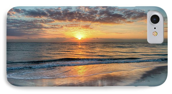 IPhone Case featuring the photograph Mirror At Sunrise by Debra and Dave Vanderlaan