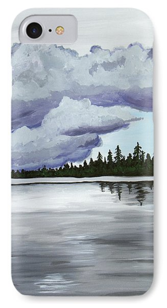 Mirror Lake Phone Case by Christie Nicklay