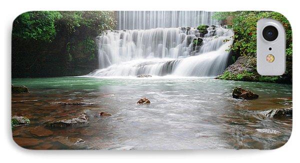 Mirror Lake Falls 2 IPhone Case by Renee Hardison