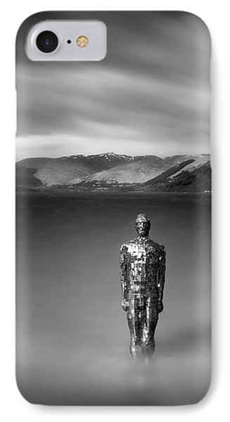 Mirror Man IPhone Case by Dave Bowman