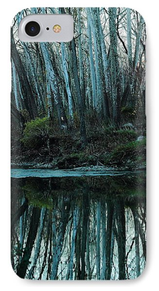 Mirrored IPhone Case by Bruce Patrick Smith