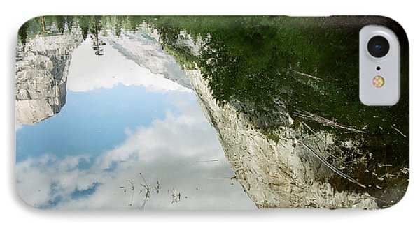 Mirrored IPhone Case by Kathy McClure