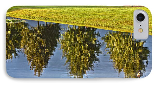 Mirroring Trees Phone Case by Heiko Koehrer-Wagner