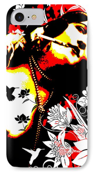 Mischievious Hummingbird Phone Case by Chris Andruskiewicz