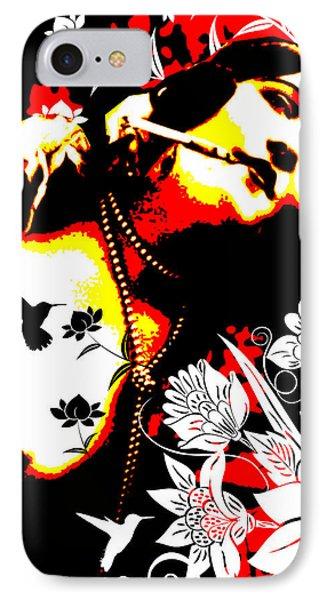 Mischievious Hummingbird IPhone Case by Chris Andruskiewicz