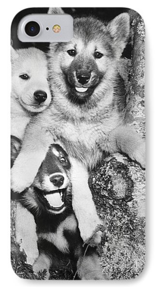 Mischievous Pups IPhone Case