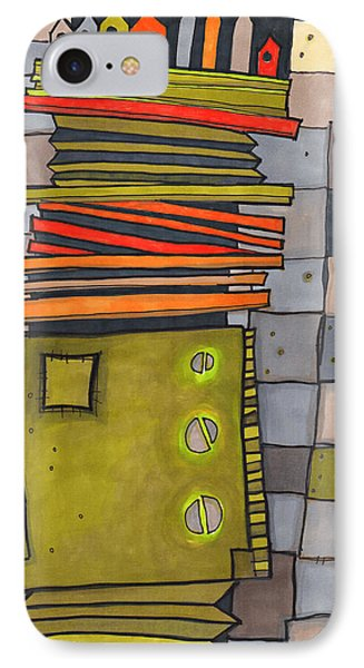 Misconstrued Housing IPhone Case by Sandra Church