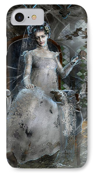 Miss. Havisham IPhone Case by Mary Hood
