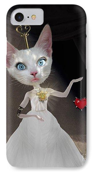 Cuckoo iPhone 7 Case - Miss Kitty by Juli Scalzi