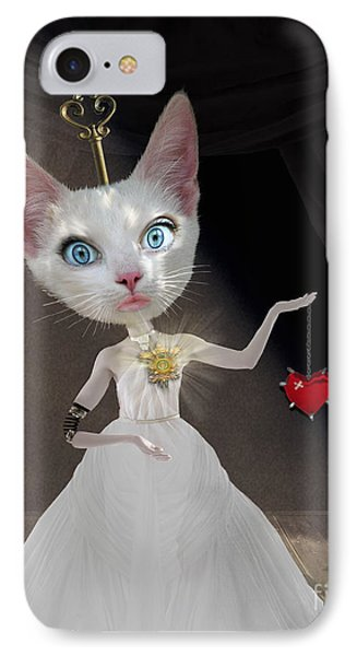 Miss Kitty IPhone Case by Juli Scalzi