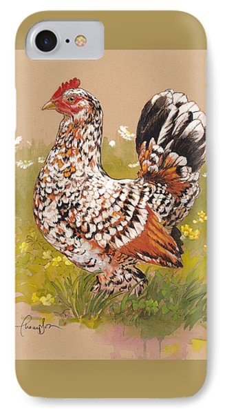 Miss Millie Fleur IPhone Case by Tracie Thompson