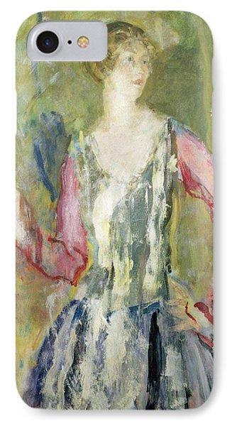 Miss Nancy Cunard Phone Case by Ambrose McEvoy
