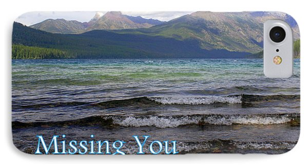 Missing You 1 Phone Case by Marty Koch