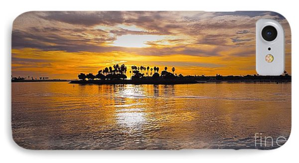 Mission Bay Purple Sunset By Jasna Gopic IPhone Case