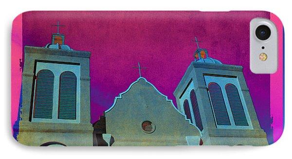 Mission New Mexico Var.2 Phone Case by Susanne Van Hulst