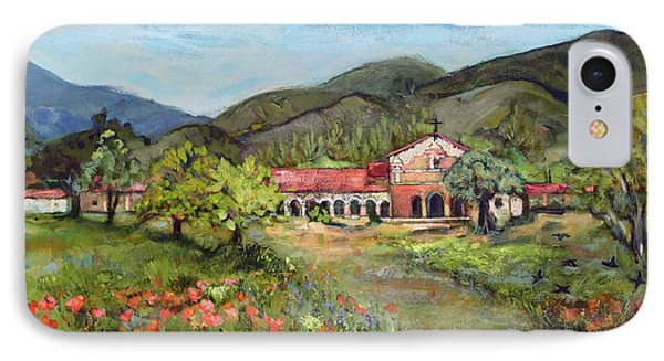 Mission San Antonio De Padua IPhone Case by Jen Norton