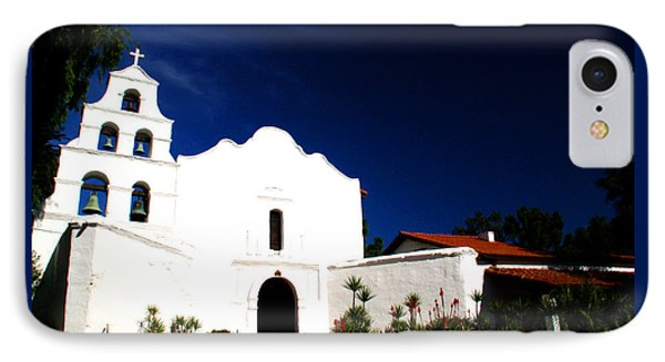 IPhone Case featuring the photograph Mission San Diego De Alcala by Christopher Woods