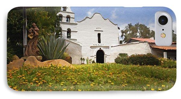 Mission San Diego De Alcala IPhone Case