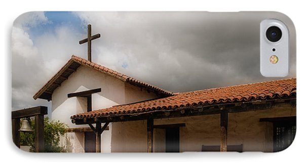 Mission San Francisco De Solano IPhone Case by Mick Burkey