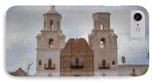 Mission San Xavier Del Bac IPhone Case