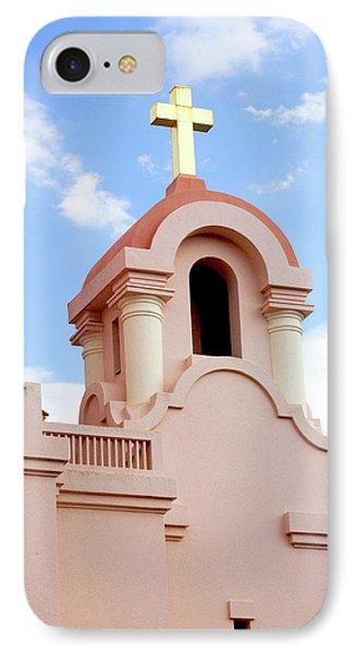 Mission San Rafael Parish Church IPhone Case by Art Block Collections