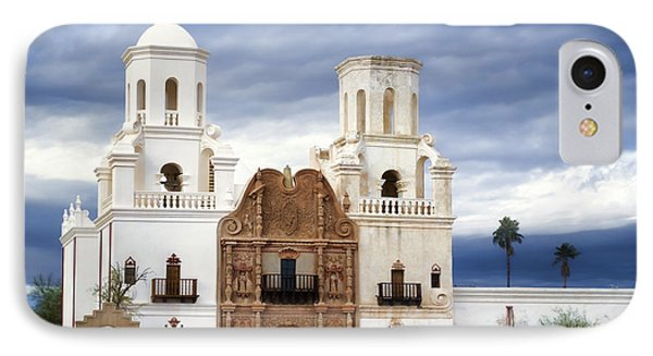 Mission San Xavier Del Bac IPhone Case by Donna Greene