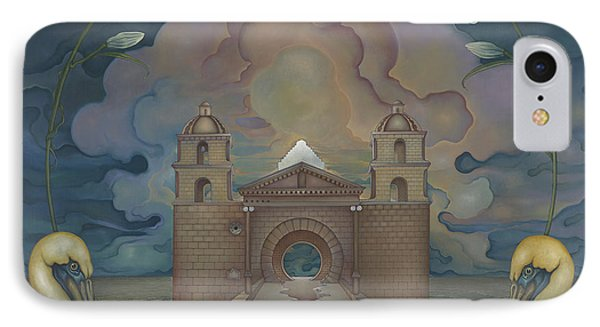 Mission Santa Barbara IPhone Case