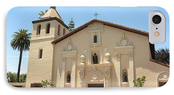 Mission Santa Clara IPhone Case by Mini Arora
