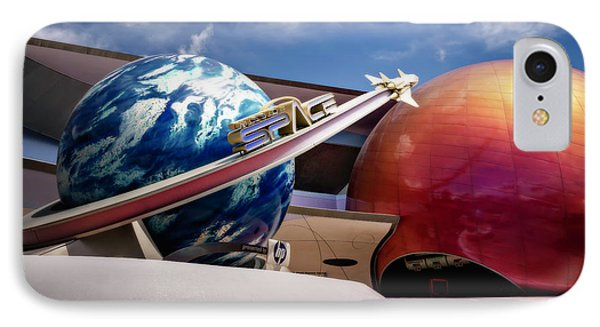 Mission Space IPhone Case by Eduard Moldoveanu