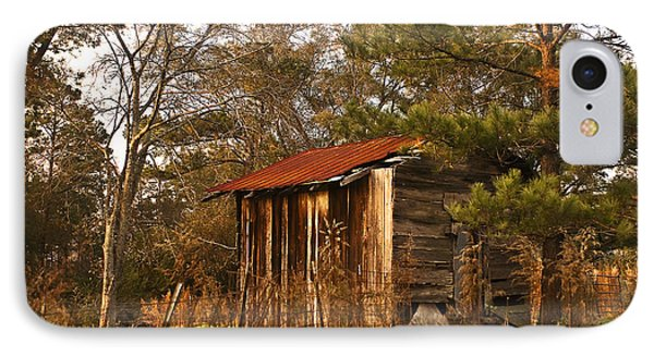 IPhone Case featuring the photograph Mississippi Corn Crib by Tamyra Ayles