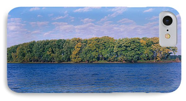Mississippi River Along Great River IPhone Case by Panoramic Images