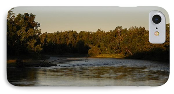 Mississippi River Morning Glow IPhone Case